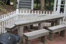 Baldhead - Triangle picnic table